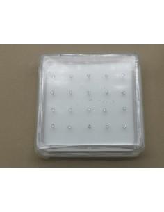 Piercing Plata Nariz Circonita Blanca